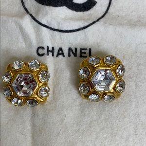 CHANEL Spectacular Crystal Earrings